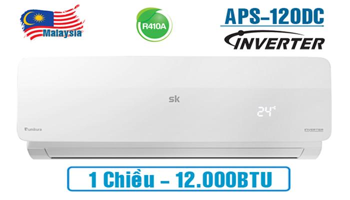 Điều hòa Sumikura 1 chiều 12000BTU inverter