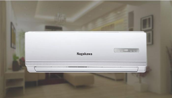 điều hòa nagakawa 2 chiều thiết kế đẹp mắt