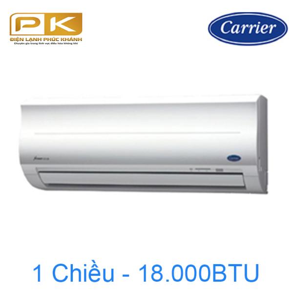 Điều hòa Carrier 1 chiều 18.000Btu 38/42CER018