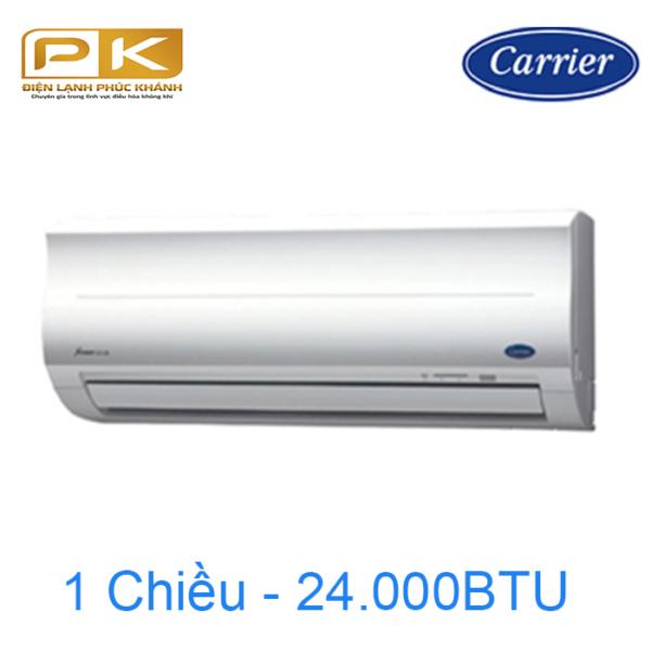 Điều hòa Carrier 1 chiều 24.000Btu 38/42CER024