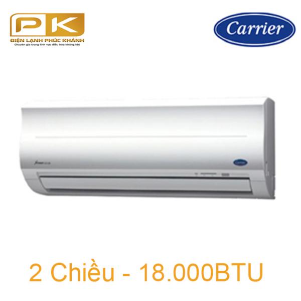 Điều hòa Carrier 2 chiều 18.000Btu 38/42HES018