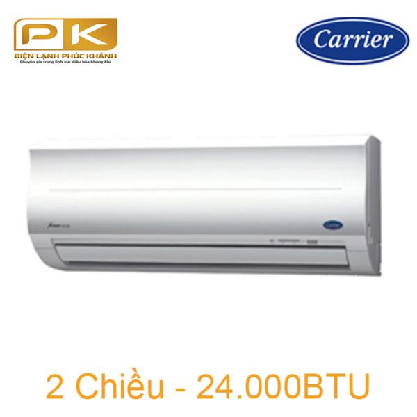 Điều hòa Carrier 2 chiều 24.000Btu 38/42HES024