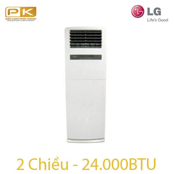 Điều hòa tủ đứng LG 2 chiều 24.000Btu HP-H246SLA0