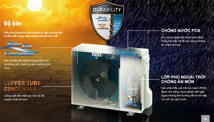 Dàn tản nhiệt điều hòa panasonic có độ bền cao