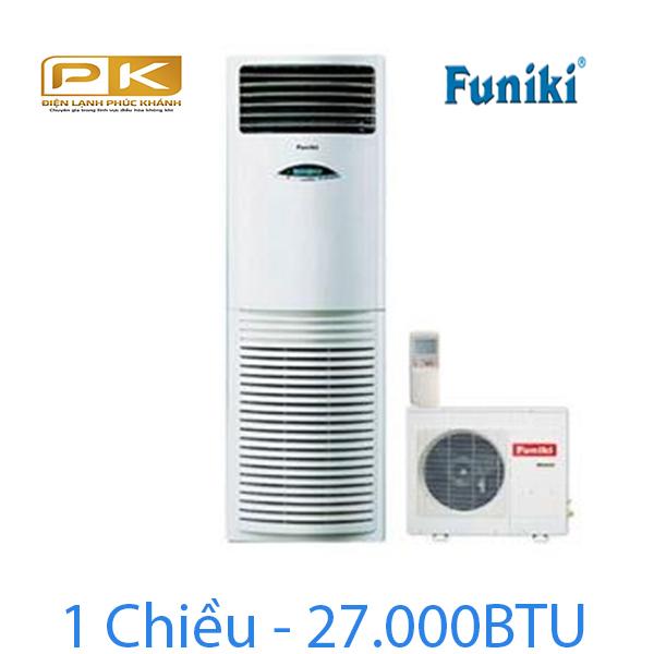 Điều hòa tủ đứng Funiki 1 chiều 27.000Btu FC27