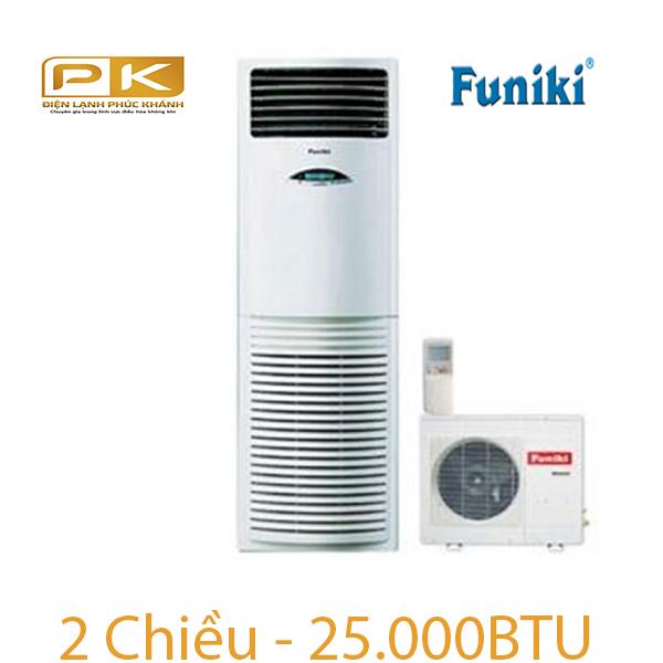 Điều hòa tủ đứng Funiki 2 chiều 25000Btu FH25