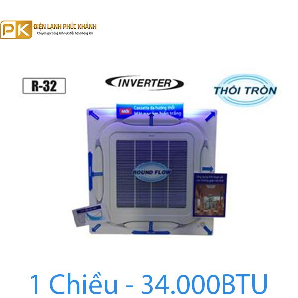 Điều hòa âm trần Daikin 1 chiều inverter 34000BTU FCF100CVM/RZF100CVM