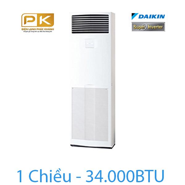 Điều hòa tủ đứng Daikin inverter 1 chiều FVQ100CVEB/RZR100MVM
