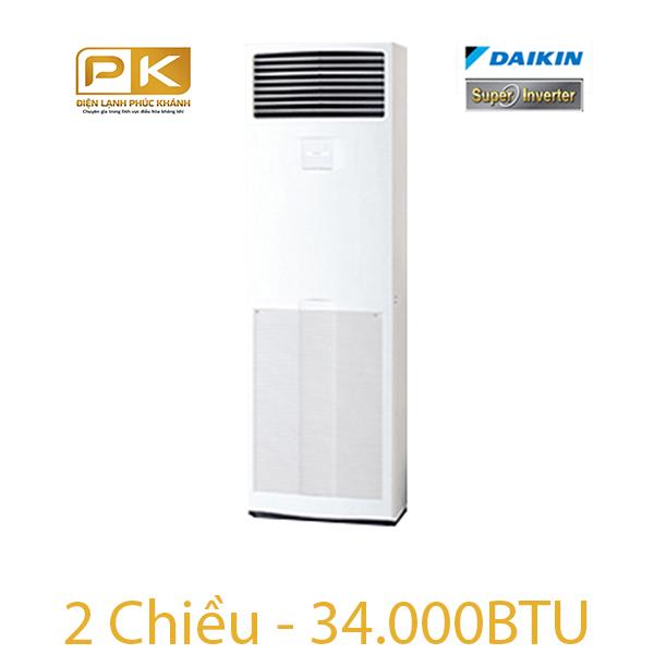 Điều hòa tủ đứng Daikin 2 chiều inverter FVQ100CVEB/RZQ100LV1