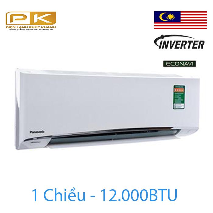 Điều hòa Panasonic 1 chiều inverter 12000Btu U12VKH-8