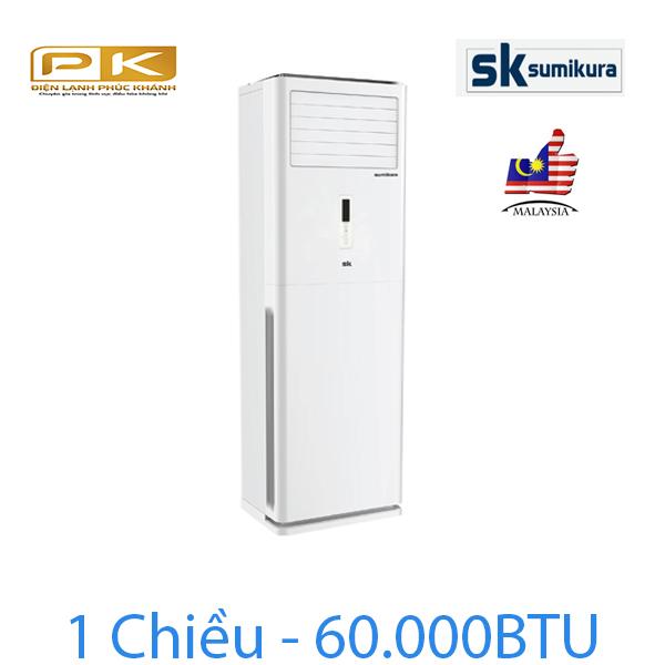 Điều hòa tủ đứng Sumikura 1 chiều 60.000Btu APF/APO-600