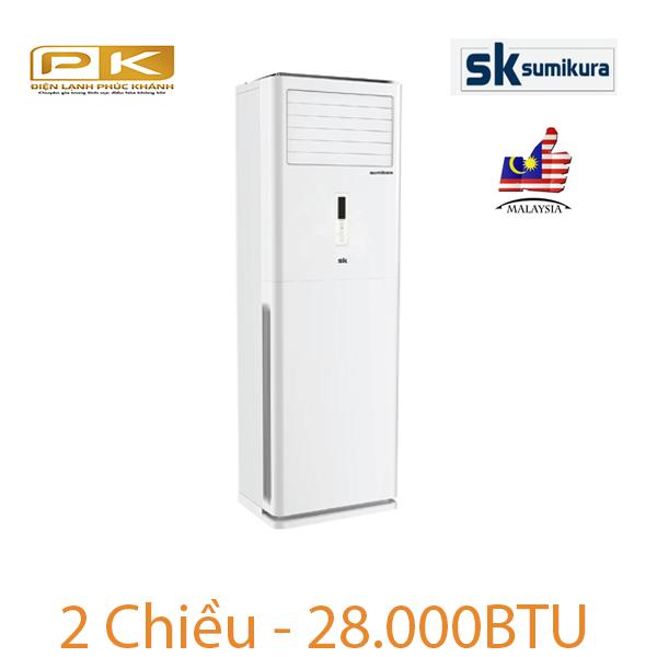 Điều hòa tủ đứng Sumikura 2 chiều 28.000Btu APF/APO-H280