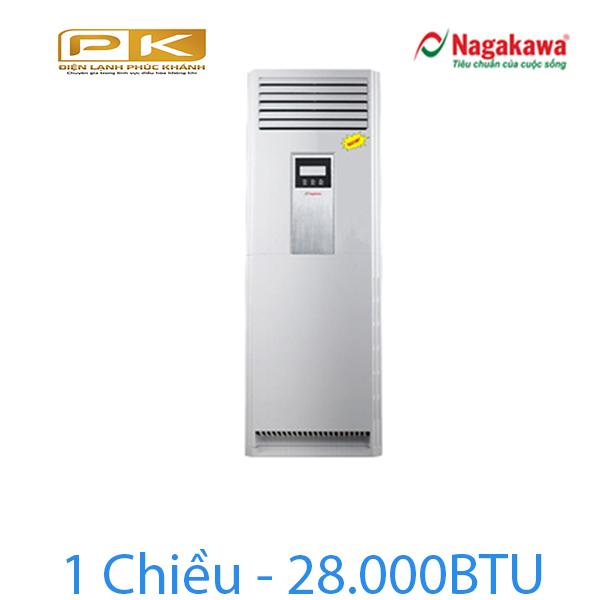 Điều hòa tủ đứng Nagakawa 1 chiều 28.000Btu NP-C28DL