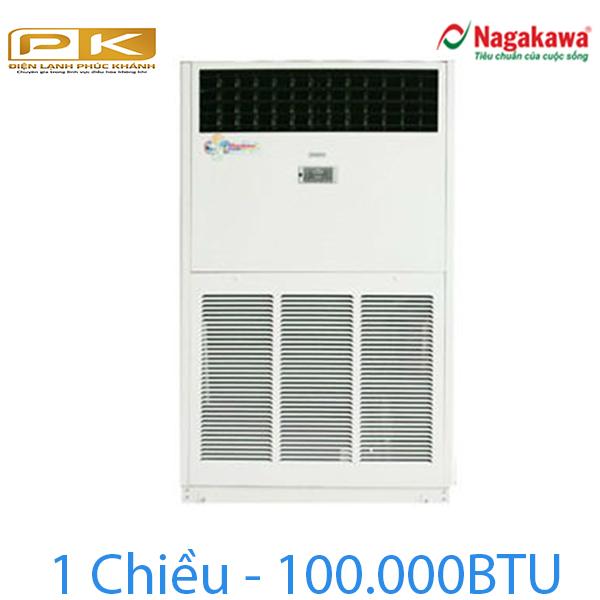 Điều hòa tủ đứng Nagakawa 1 chiều 100.000Btu NP-C100DL