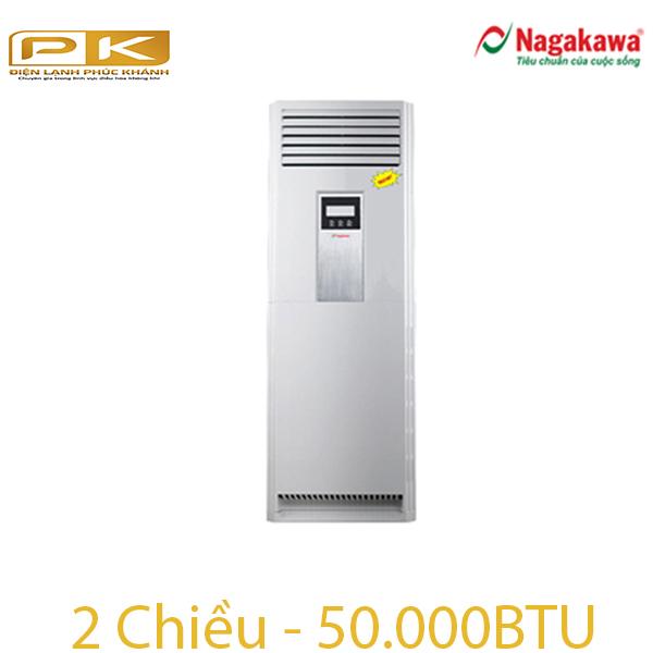 Điều hòa tủ đứng Nagakawa 2 chiều 50.000Btu NP-A50DL