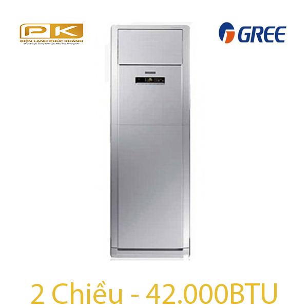 Điều hòa tủ đứng Gree 2 chiều 42.000Btu GVH42AH