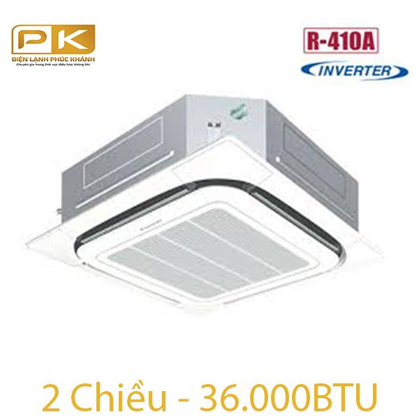 Điều hòa Daikin âm trần inverter 2 chiều 36.000Btu FCQ100KAVEA/RZQ100LV1