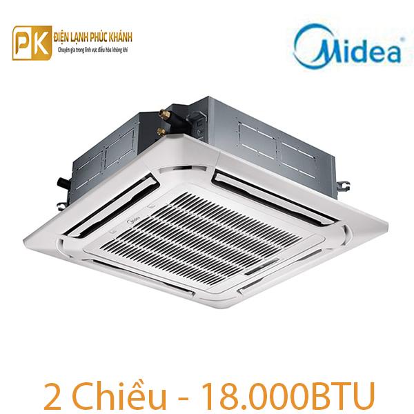 Điều hòa âm trần Midea 2 chiều 18.000Btu MCD-18HR