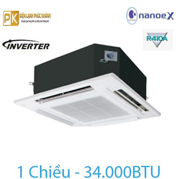Điều hòa âm trần Panasonic 1 chiều 34000Btu Inverter S-34PU2H5-8/U-34PS2H5-8