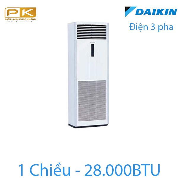 Điều hòa tủ đứng Daikin 1 chiều 28000Btu FVRN71BXV1V/RR71CBXY1V