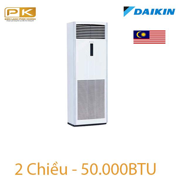 Điều hòa tủ đứng Daikin 2 chiều 50.000Btu FVQN140AXV1/RQ140DGXY1