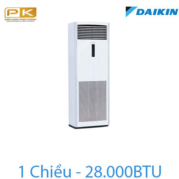 Điều hòa tủ đứng Daikin 1 chiều 28000Btu FVRN71BXV1V/RR71CBXV1V