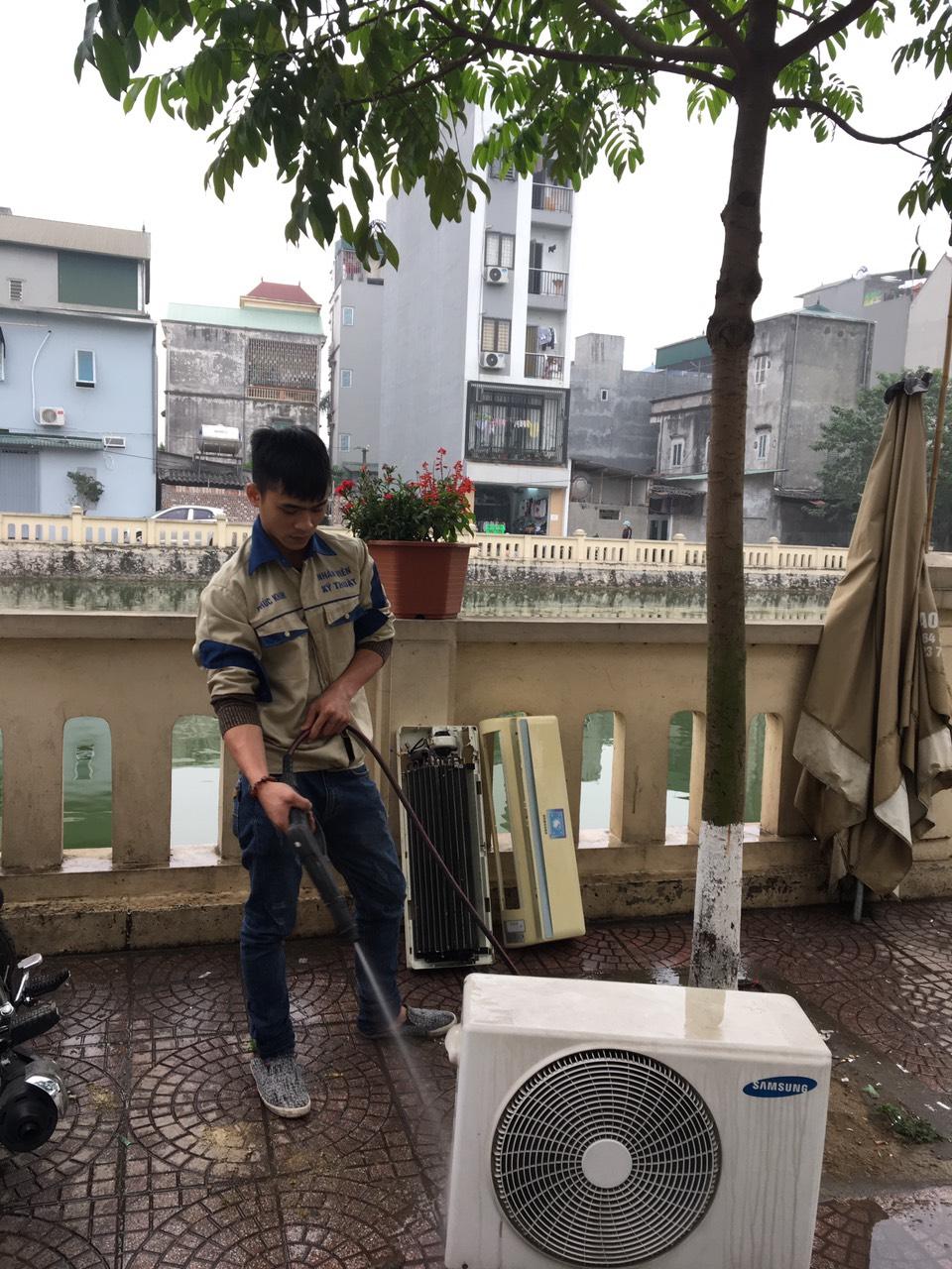 quy trình bảo dưỡng máy điều hòa không khí