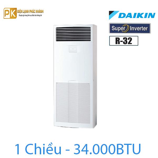 Điều hòa tủ đứng Daikin inverter 34.000BTU FVA100AMVM