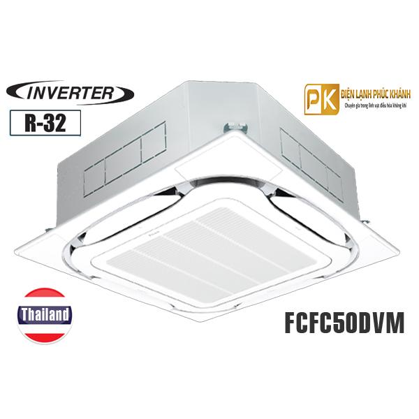 Điều hòa âm trần Daikin 18.000BTU inverter 1 chiều FCFC50DVM