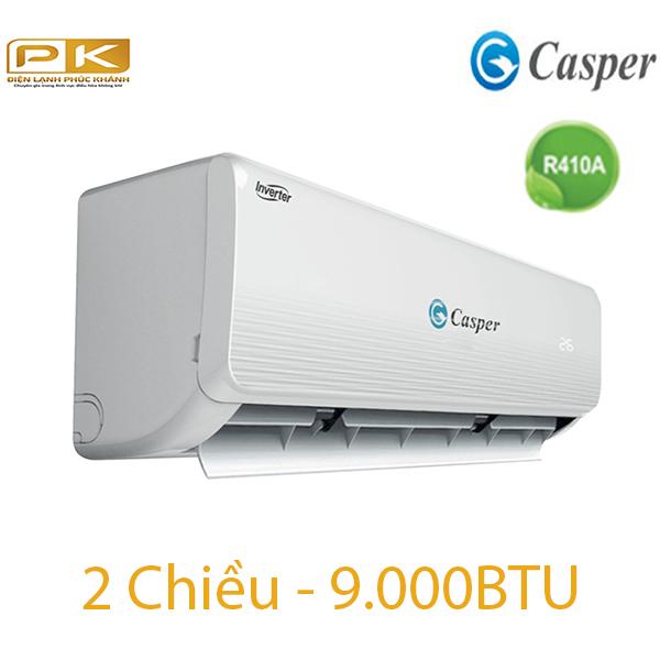 Điều hòa Casper 2 chiều 9.000BTU inverter IH-09TL22