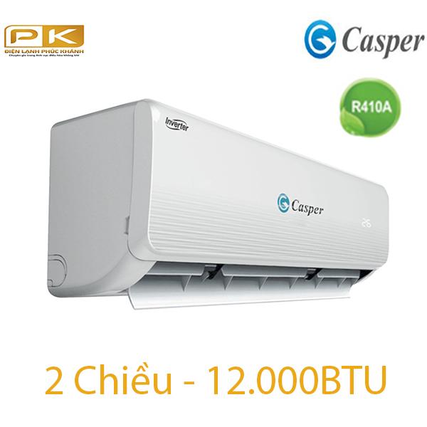 Điều hòa Casper 2 chiều 12.000BTU inverter IH-12TL22