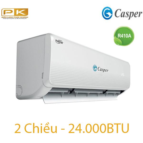 Điều hòa Casper 2 chiều 24.000BTU inverter IH-24TL22