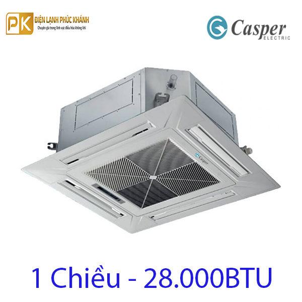 Điều hòa âm trần Casper 28.000BTU CC-28TL22