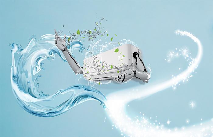 điều hòa Casper tự động làm sạch thông minh