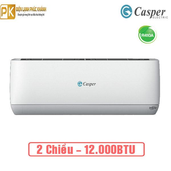 Điều hòa Casper 12.000BTU inverter 2 chiều GH-12TL22