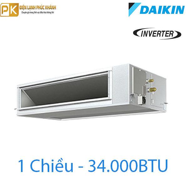 Điều hòa nối ống gió Daikin 1 chiều inverter 34000Btu FBA100BVMA/RZF100CVM