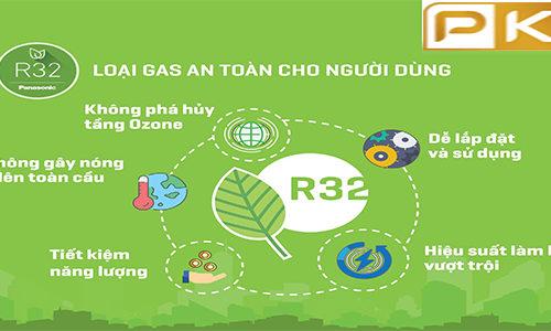 ưu điểm của gas r32