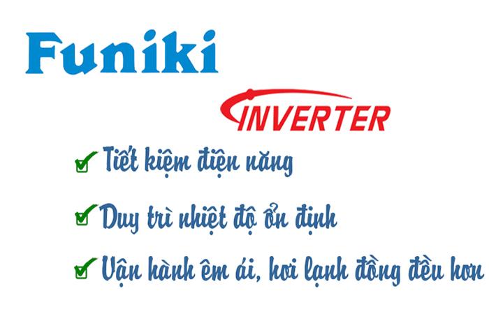 Điều hòa Funiki tiết kiệm điện năng
