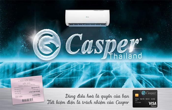 Điều hòa Casper tiết kiệm điện năng tối ưu