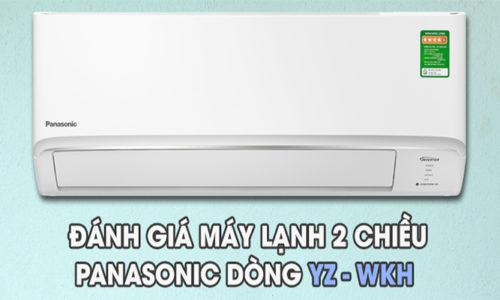 Đánh giá dòng máy điều hòa panasonic YZ-WKH-8