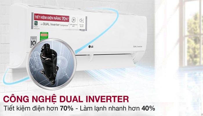 Điều hòa LG Dual inverter