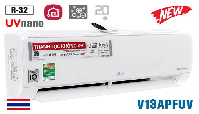 Điều hòa LG inverter 12000BTU V13APFUV