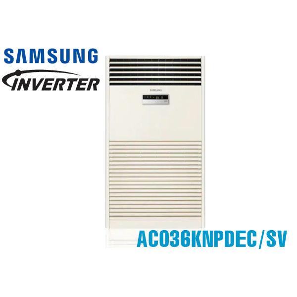 Điều hòa tủ đứng Samsung 36.000BTU 1 chiều inverter AC036KNPDEC/SV