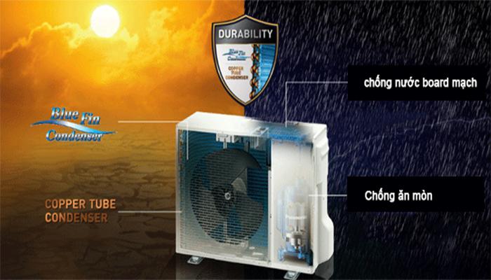 Dàn nóng điều hòa Multi Panasonic có khả năng chống ăn mòn
