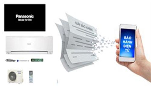 Hướng dẫn kích hoạt bảo hành điều hòa Panasonic