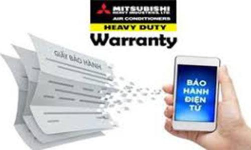 Đăng ký bảo hành điện tử máy điều hòa Mitsubishi heavy