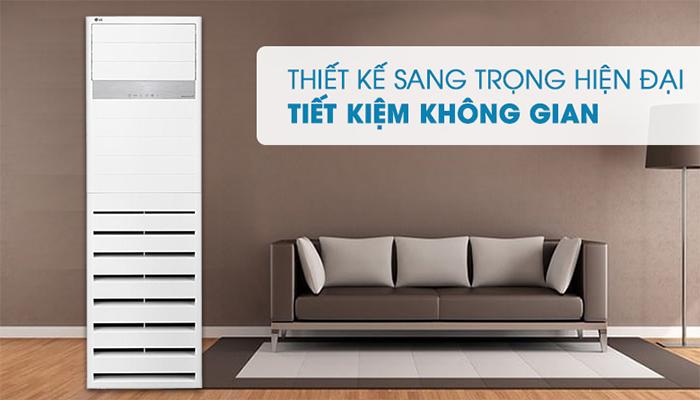 Điều hòa tủ đứng LG thiết kế hiện đại sang trọng