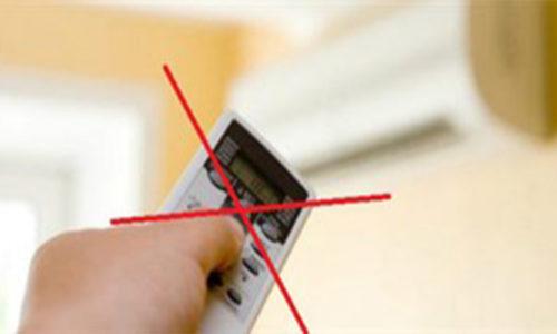Làm thế nào để bật máy điều hòa khi bị mất điều khiển