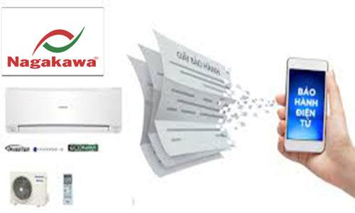 Cách đăng ký bảo hành điều hòa Nagakawa