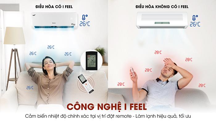 Công nghệ i feel của điều hòa gree